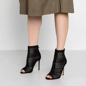 ALDO black ankle boots sexy bootie